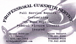 Professional Gunsmith Service