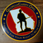 4 Inch GCO Decal - Set of 3
